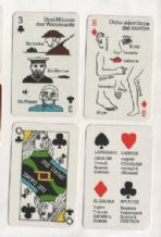 Collectable Playing cards Desperanto 4 language tuition deck